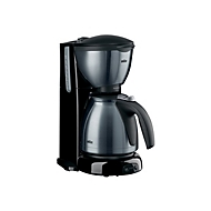 Braun Sommelier KF 610 - Kaffeemaschine - Rostfreier Stahl metallic/gebürstet