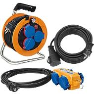 Brennenstuhl Baustellen-Set Power Pack, IP44, für Industrie u. Handwerk, 3-teilig
