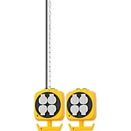 Brennenstuhl hangende stroomverdeler, kabellengte 5 m, met 3 m stalen schakelketting