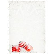Briefpapier voor Kerstmis Winter Flair, A4, aan beide zijden bedrukbaar, 100 vellen