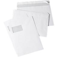 Briefumschläge, DIN C4, mit Fenster, haftklebend, 250 Stück
