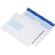 Briefumschläge, DIN C5, mit Fenster links, 500 Stück