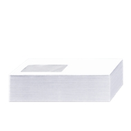 Briefumschläge, DIN lang, mit Haftklebung, mit Fenster, FSC-zertifiziert, 1000 Stück