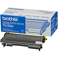 Brother 2x TN-2000 tonercassette zwart