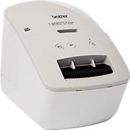 Brother Etikettendrucker QL-600G, Graustufen, für B 12-62 mm, 300 x 600 dpi, 44 Etiketten/Min., USB 2.0, inkl. 8 m Etikettenrolle