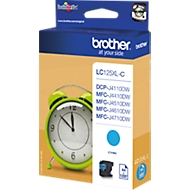 Brother inktcartridge LC-125XLC, cyaan