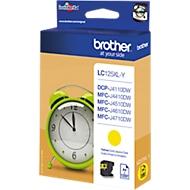 Brother inktcartridge LC-125XLY, geel