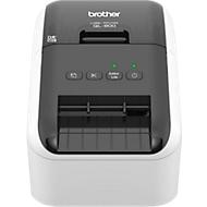 brother professionele QL-800 etikettenprinter, print in zwart en rood