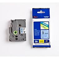 Brother Schriftbandkassette TZe-521, 9 mm breit, blau/schwarz