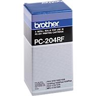 Brother Thermotransferband PC-204RF, 4 Rollen, schwarz