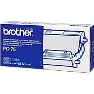 Brother Thermotransferband PC-75, 1 Rolle, schwarz