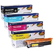 Brother Tonerkassette Sparpaket TN-241/245, CMYK-Bundle, schwarz,cyan, magenta, gelb