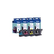 Brother voordeelpakket 4 inktcartridges LC-123BK/C/M/Y zwart, cyaan, magenta, geel
