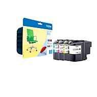 Brother voordeelpakket 4 inktcartridges LC-229XLVALBPDR zwart, cyaan, magenta, geel
