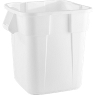 Brute-containers, puntig, 105 l, wit