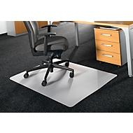 BSM bureaustoelmat vorm A, voor tapijtvloeren, 750x1200 mm