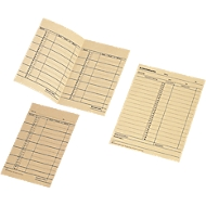 BÜRK stempelkaart, week klokkaart, voor prikklok ZS3200/ZS5200, 500 st.