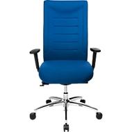 Bürostuhl SSI PROLINE XXL, Synchronmechanik, mit Armlehnen, bis 150 kg, blau