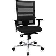 Bürostuhl Topstar SITNESS X-PANDER Plus, Synchronmechanik, 3D Sitzfläche, Netz-Optik, schwarz