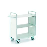 Bürowagen mit Seitenwänden, 1000 x 500 mm, Tragkraft 150 kg