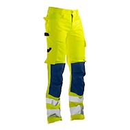 Bundhose Jobman 2378 PRACTICAL, Hi-Vis, EN ISO 20471 Klasse 2, gelb I dunkelblau, 42