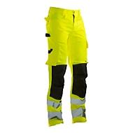 Bundhose Jobman 2378 PRACTICAL, Hi-Vis, EN ISO 20471 Klasse 2, gelb I schwarz, 64