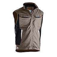 Bundweste Jobman 7507 PRACTICAL, PSA-Kategorie 1, khaki, Polyester I Baumwolle, XL