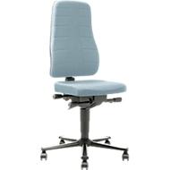 Bureaustoel All-in-One 9643, stoffen bekleding, Duotec, grijs