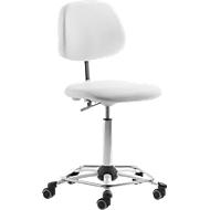 Bureaustoel met voetenring, zonder armleuningen
