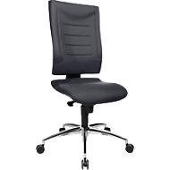 Bureaustoel SSI PROLINE P2, synchroonmechanisme, zonder armleuningen, lendenwervelsteun, knierol, antraciet