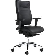 Bureaustoel SSI PROLINE P3 DELUXE, synchroonmechanisme, zonder armleuningen, gestoffeerde comfortzitting, zonder hoofdsteun