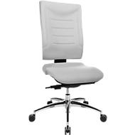 Bureaustoel SSI PROLINE P3, synchroonmechanisme, zonder armleuningen, lendenwervelsteun, ergonomisch gevormde wervelsteun, grijs