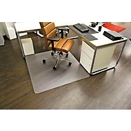 Bureaustoelmat Ecoblue®, matdikte 1,8 mm, voor harde vloeren, B 1300 mm