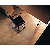 Bureaustoelmat, hoekig met uitsparing, 1500 x 1200 mm