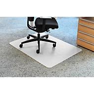 Bureaustoelmat voor tapijtvloeren 900 x 1200, pvc