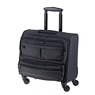 Business-Laptop-Overnight-Trolley, Nylon, Teleskopsystem, 360°-Leichtlauf-Rollen, B435xT230xH440 mm