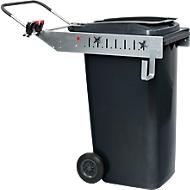 Cadre pour conteneur à déchets Flora Carrier Pick Up, poignée et porte-outils, 240 l forme tonneau