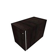Caisson mobile SOLUS PLAY, 1 tiroir-plumier + 1 tiroir + 1 tiroir à DS, sans poignée, l. 430 x P 777 x H 562 mm, chêne fossile