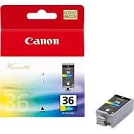 Canon inktpatroon (origineel), CLI-36, vierkleurenpatroon