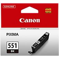 Canon Tintenpatrone CLI-551 BK schwarz