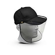 Cap-Gesichtsschirm, Schwarz