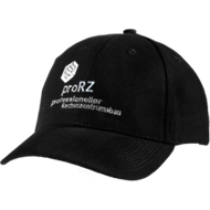 Cap, mit Klettverschluss,inkl. einfarbige Werbeanbringung ab 50 Stück, schwarz