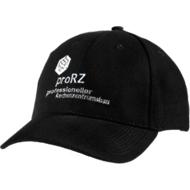 Cap, mit Klettverschluss, inkl. individuellem Logostick & allen Grundkosten ab 50 Stück, schwarz