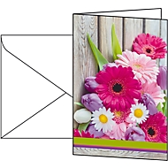 Carte avec motif Colorful, 10 pièces
