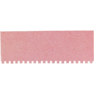 Carton d'identification nominative rouge