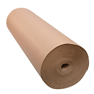 Carton ondulé en rouleau 300 mm x 70 m, gris