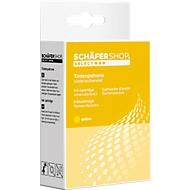 Cartouche d'encre SCHAEFER SHOP compatible CLI-521 Y, jaune
