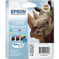 Cartouches Epson T10064010, lot de 3