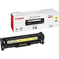 Cassette de toner jaune Canon T718Y