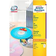 CD-Etiketten L 6043-25, ø 117 mm, 50 Stück